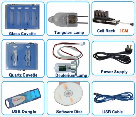 UV-1700 全配附件