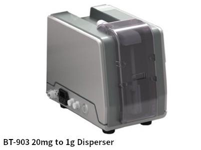 珍貴藥粉少量專用乾式分散器