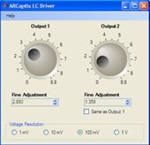 Windows Software for Voltage Control